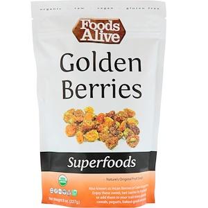 Фудс Алайф, Superfoods, Golden Berries, 8 oz (227 g) отзывы