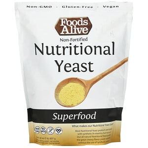 Foods Alive, Superfood, Non-Fortified Nutritional Yeast, 32 oz (907 g)