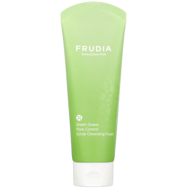Frudia, Green Grape, Pore Control Scrub Cleansing Foam, 145 ml
