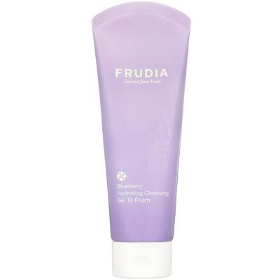 Купить Frudia Blueberry Hydrating, Cleansing Gel To Foam, 145 ml