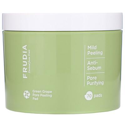 Купить Frudia Пилинг-диски для очищения пор с зеленым виноградом, 70шт.