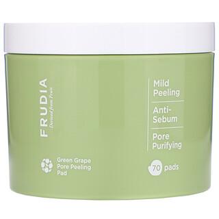 Frudia, Green Grape Pore Peeling Pad, 70 Pads