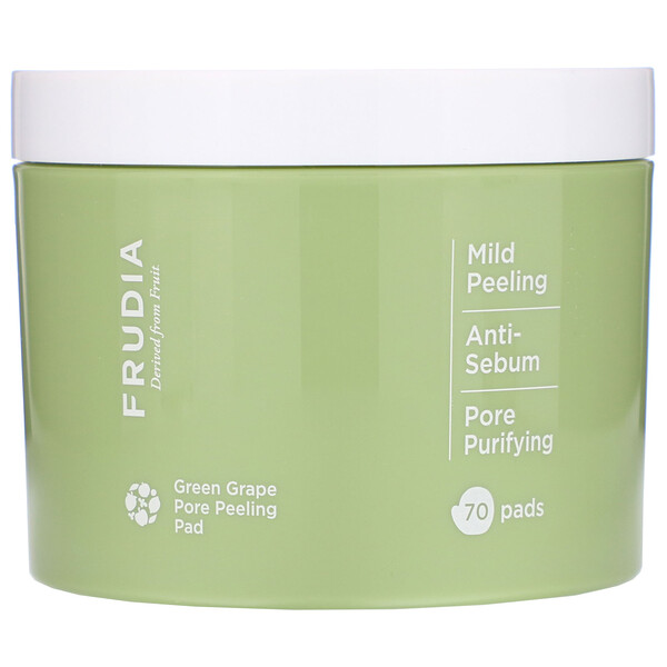 Frudia, Green Grape Pore Peeling Pad, 70 Pads