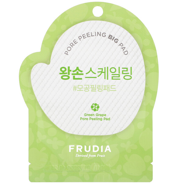 Green Grape, Pore Peeling Pad, 1 Pad
