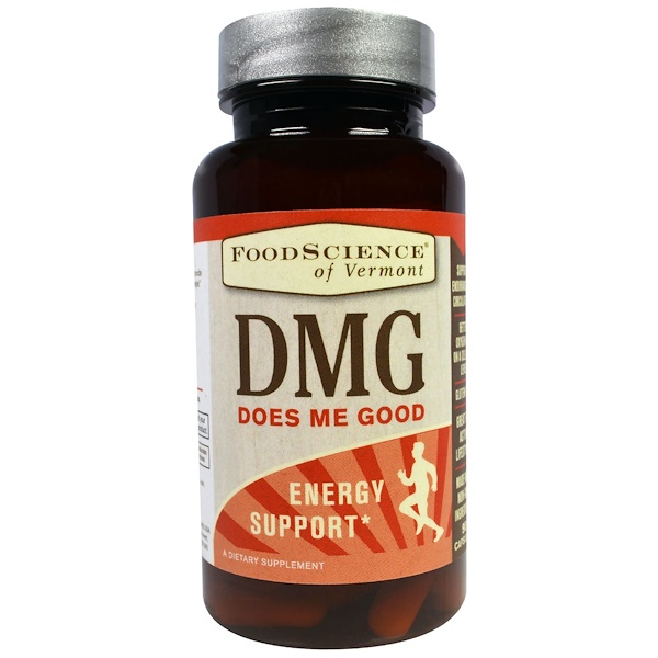 FoodScience, DMG, Energy Support, 90 Capsules (Discontinued Item)