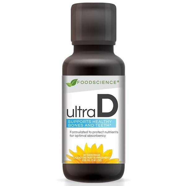 FoodScience, Ultra D, 7.61 oz (225 mg) (Discontinued Item)