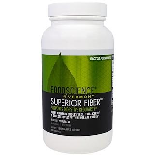 FoodScience, Fibra superior, 6,21 onzas (176 g)