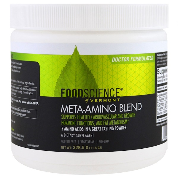 FoodScience, Meta-Amino Blend , 11.6 oz (328.5 g) (Discontinued Item)