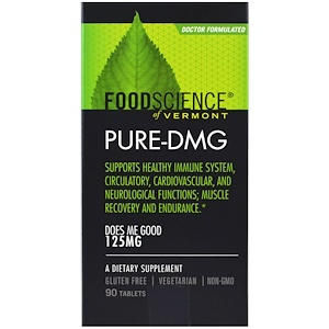 Фуд Саэнс, Pure-DMG, 125 mg, 90 Tablets отзывы