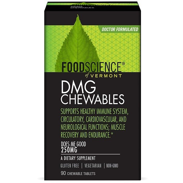 FoodScience, DMG 咀嚼片,250 毫克,90 片咀嚼片