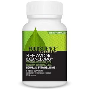 Фуд Саэнс, Behavior Balance-DMG, 120 Capsules отзывы покупателей