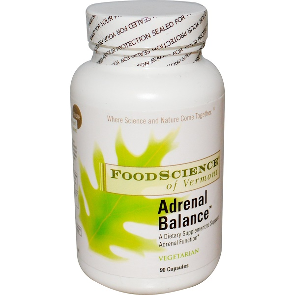FoodScience, Adrenal Balance, 90 Capsules (Discontinued Item)