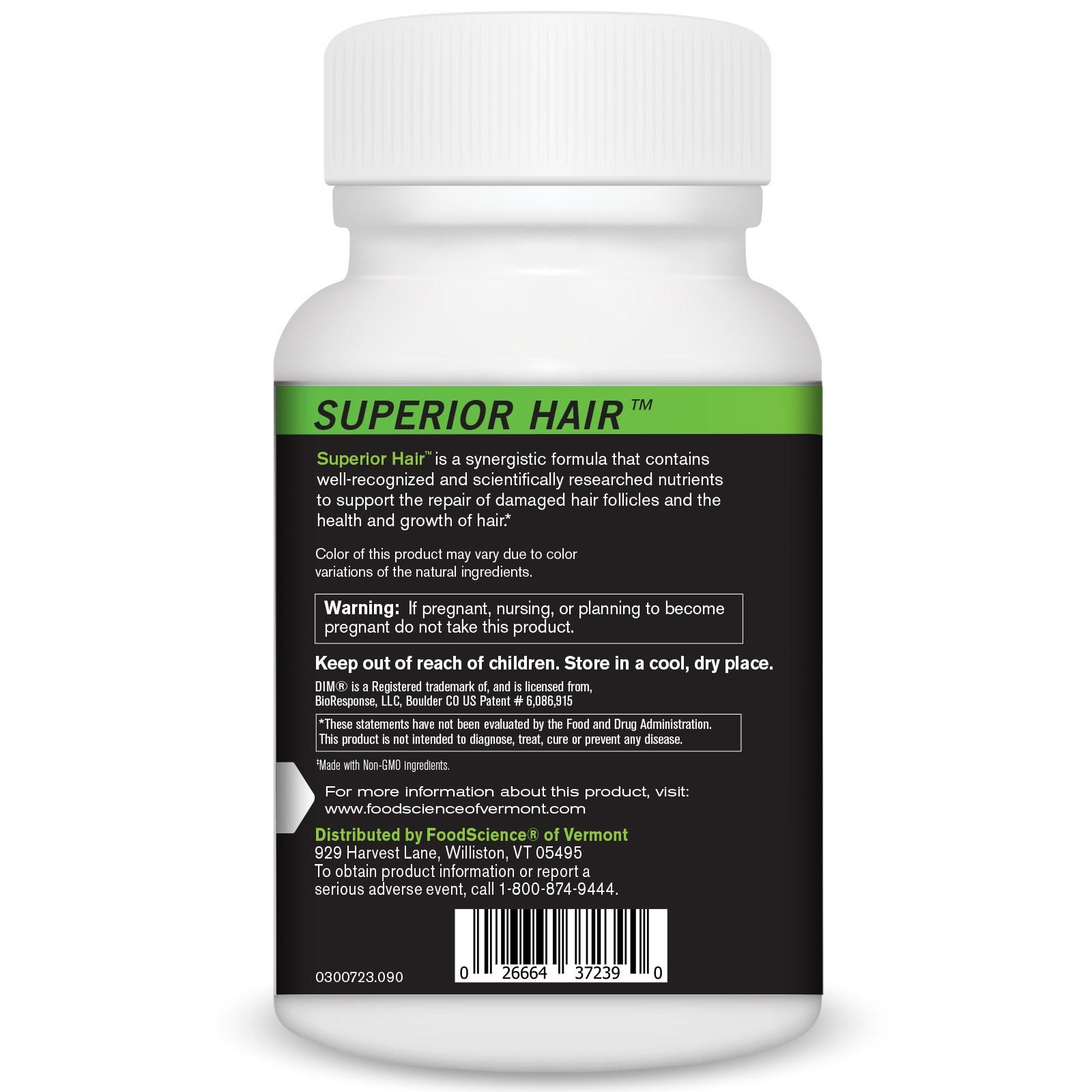FoodScience, Superior Hair, 90 Capsules - iHerb com