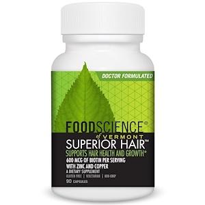 FoodScience, Superior Hair, 90 капсул