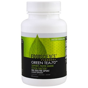 Фуд Саэнс, Green Tea-70, 60 Capsules отзывы