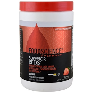 FoodScience, Superior Reds, 11.5 oz (324.9 g)