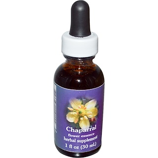 Flower Essence Services, Quintessentials, Chaparral, Flower Essence, 1 fl oz (30 ml)