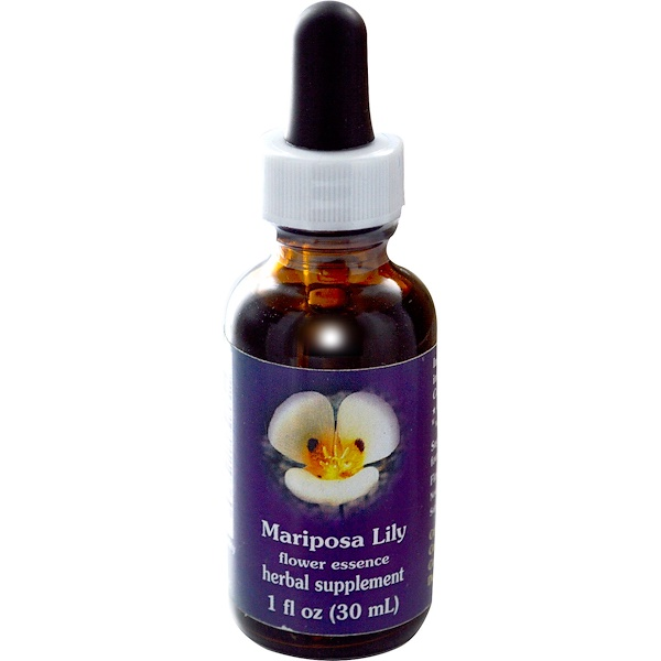 Flower Essence Services, Essência Floral de Lírio-Mariposa, 30 ml (1 fl oz) (Discontinued Item)