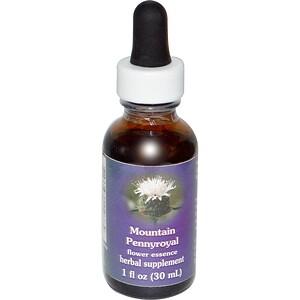 Фловер Эссенс Сервисес, Mountain Pennyroyal, Flower Essence, 1 fl oz (30 ml) отзывы покупателей