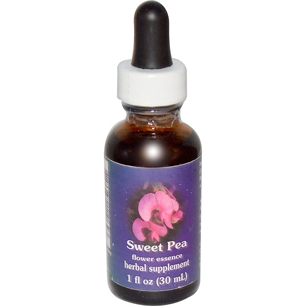 Flower Essence Services, Sweet Pea, Flower Essence, 1 fl oz (30 ml) (Discontinued Item)