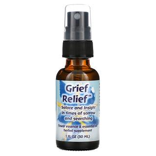 Flower Essence Services, Grief Relief, Flower Essence & Essential Oil, 1 fl oz (30 ml)