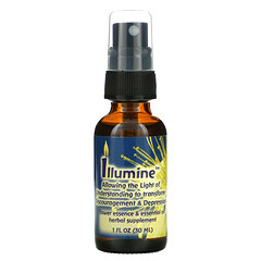 Flower Essence Services, Illumine,花卉精華和精油,1 液量盎司(30 毫升)