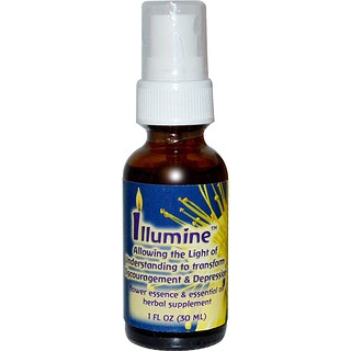 Flower Essence Services, Illumine, Flower Essence & Essential Oil, 1 fl oz (30ml)