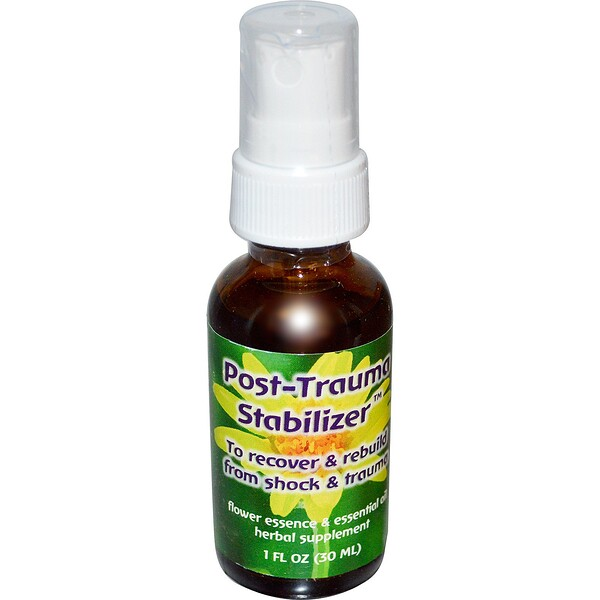 Quintessentials, Post-Trauma Stabilizer, Flower Essence & Essential Oil, 1 fl oz (30 ml)
