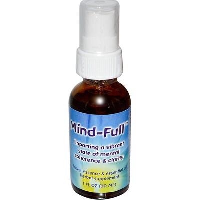 Купить Mind-Full, цветочная эссенция и эфирное масло, 30 мл