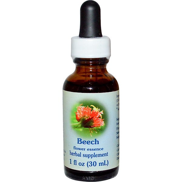 Flower Essence Services, Beech, Flower Essence, 1 fl oz (30 ml) (Discontinued Item)