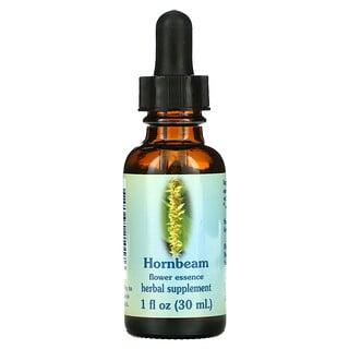 Flower Essence Services, Hornbeam, Flower Essence, 1 fl oz (30 ml)