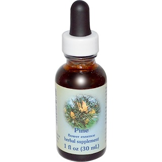 Flower Essence Services, Healing Herbs, Pine, Flower Essence, 1 fl oz (30 ml)