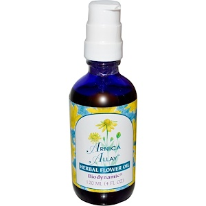 Фловер Эссенс Сервисес, Arnica Allay, Herbal Flower Oil, 4 fl oz (120 ml) отзывы
