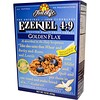 Food For Life, Ezekiel 04:09, cereales germinados de grano integral, lino dorado, 16 oz (454 g)