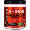 FURIOUS FORMULATIONS, Aminos Baby!, аминокислоты с разветвленной цепью,со вкусом клубничного коктейля, 360 г (12.7 oz)