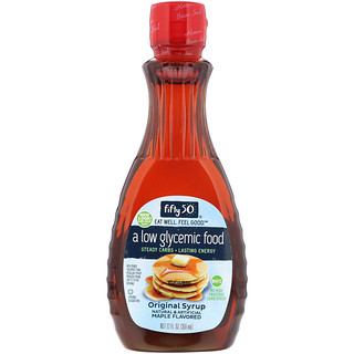 Fifty 50, Original Syrup, Maple Flavored, 12 fl oz (355 ml)