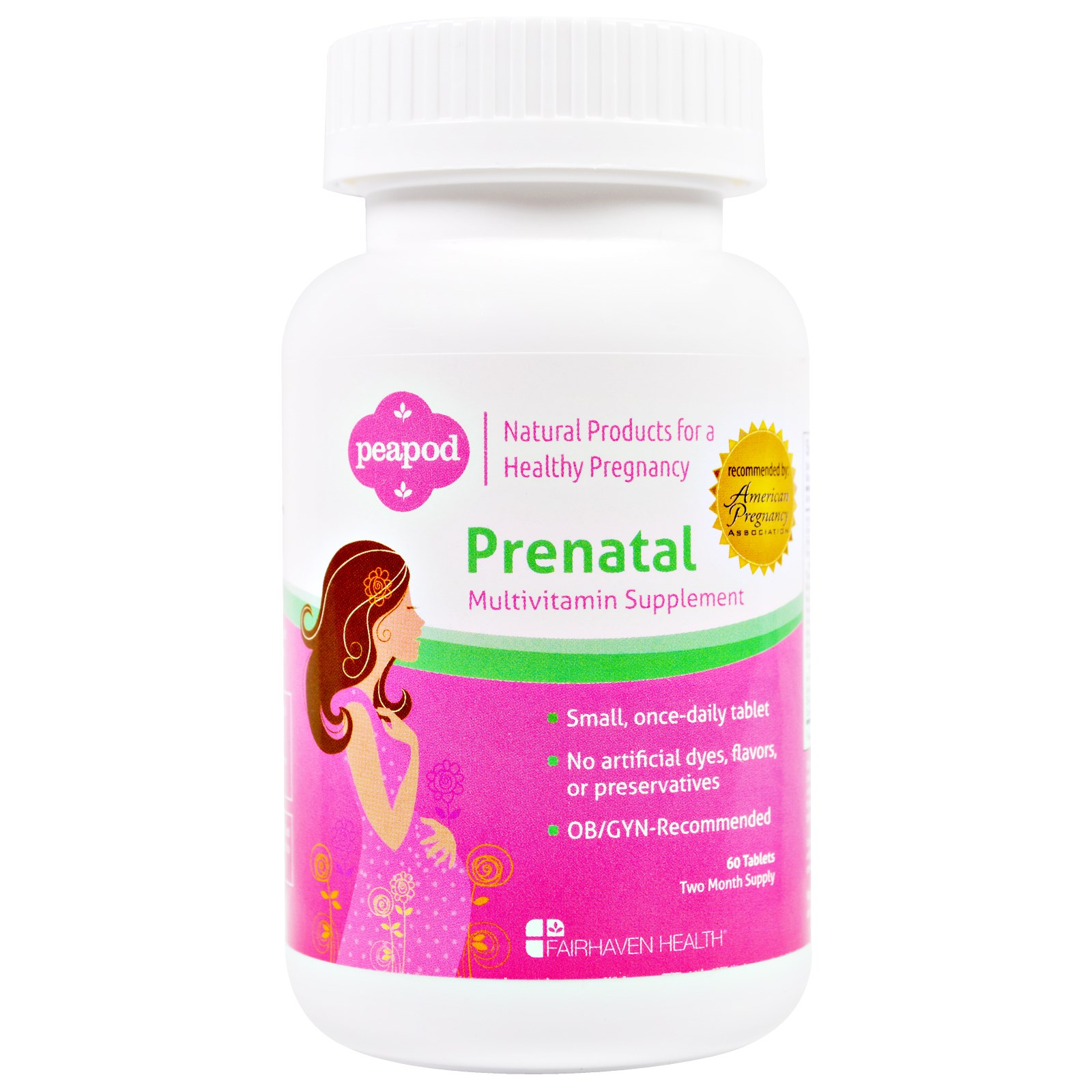 Fairhaven Health, Pregnancy Plus, Prenatal,  60 Tablets