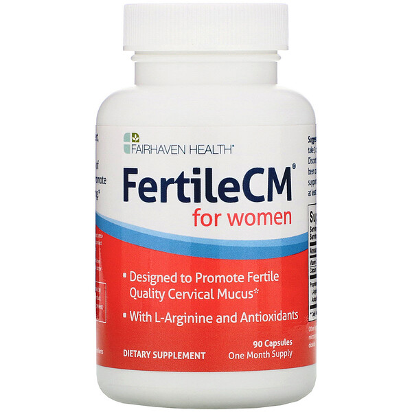 FertileCM for Women, 90 Capsules