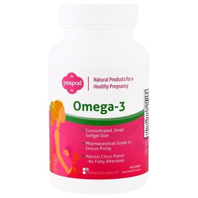 Pregnancy Plus, дополнительный источник Омега 3 жирных кислот для беременных женщин, 90 мягких капсул