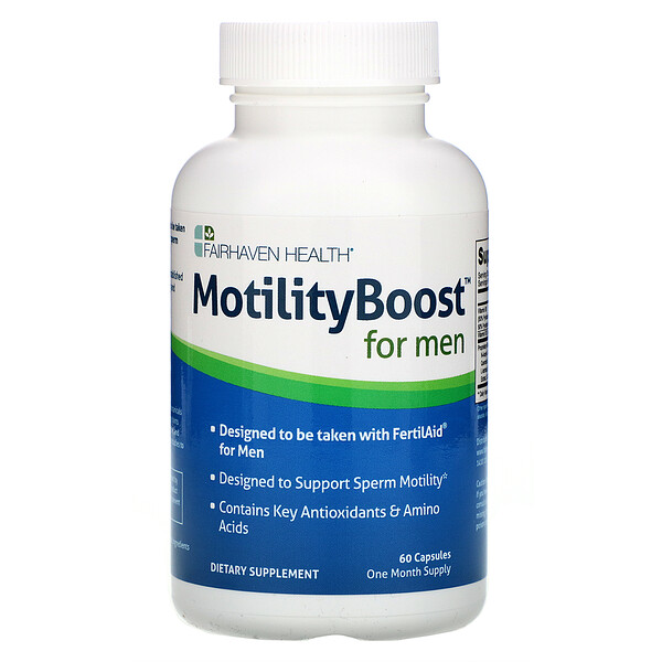 MotilityBoost for Men, 60 Capsules