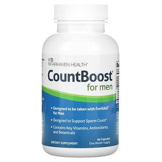Fairhaven Health, CountBoost para hombres, 60cápsulas