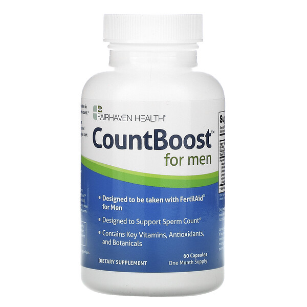 CountBoost for Men, 60 Capsules