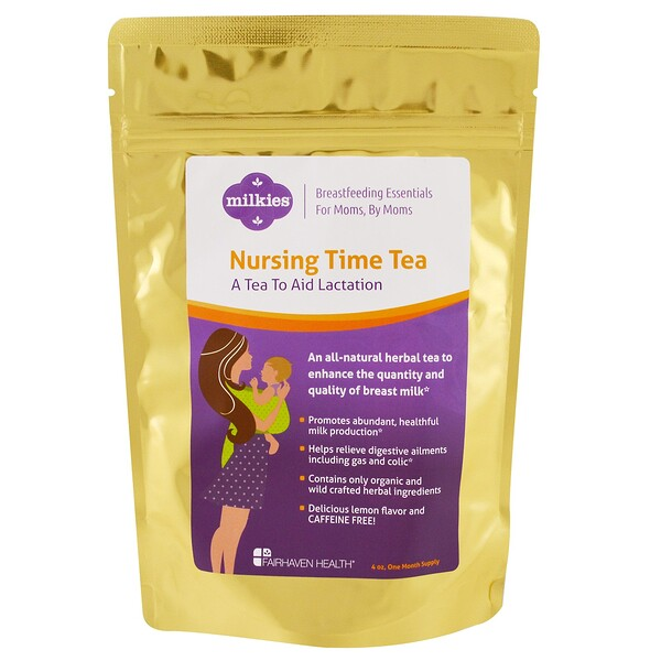 Nursing Time Tea, Lemon Flavor, 4 oz