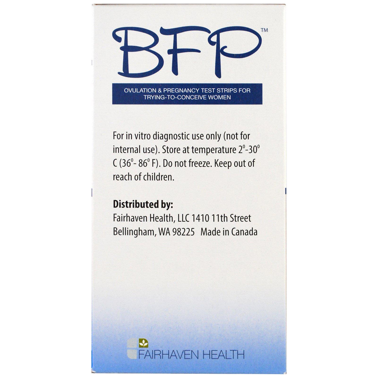 Fairhaven Health, BFP, Ovulation & Pregnancy Test Strips For