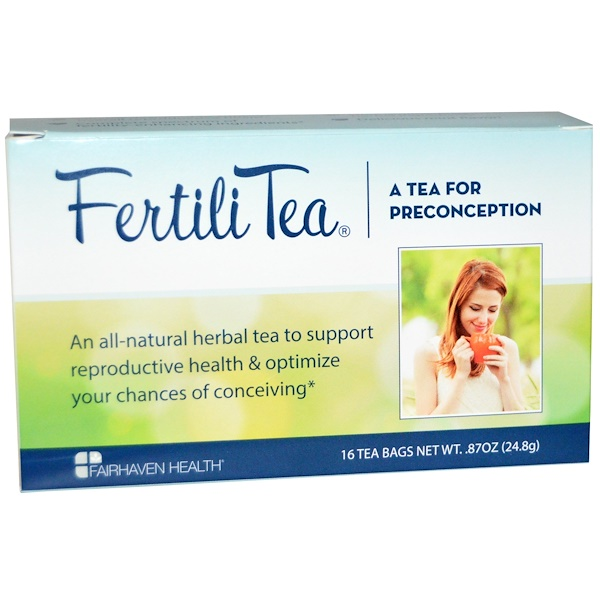 Fairhaven Health, FertiliTea for Women, 16 Tea Bags, 、87 oz (24、8 g)
