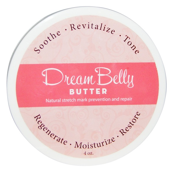 Fairhaven Health, DreamBelly Butter for Stretch Marks, 4 oz (Discontinued Item)