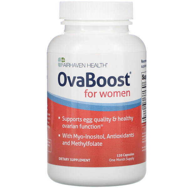 Fairhaven Health, OvaBoost for Women, 120 Veggie Caps