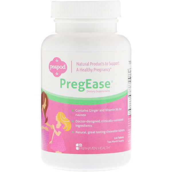 Fairhaven Health, PregEase, 120 Tablets (Discontinued Item)