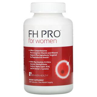 Fairhaven Health, FH Pro for Women, Clinical-Grade Fertility Supplement, 180 Capsules