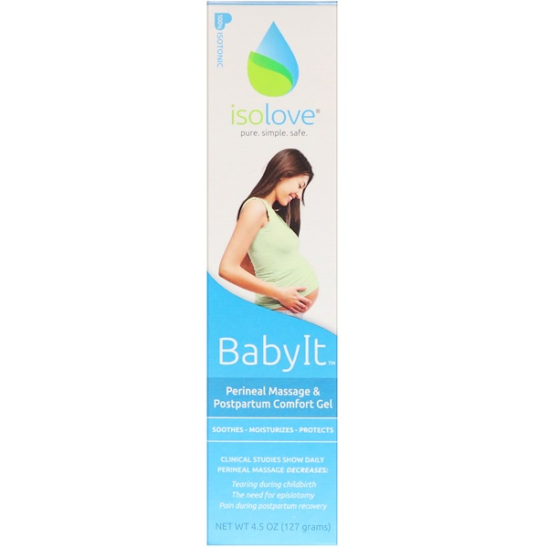 Fairhaven Health, BabyIt, Perineal Massage and Postpartum Comfort Gel, 4.5 oz (127 g)